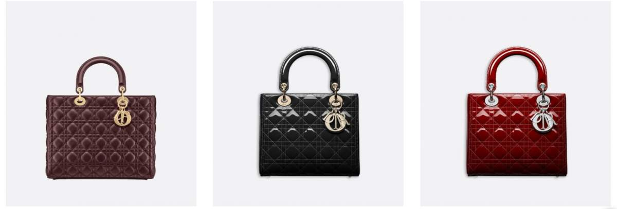 4f6fef4a705 It was unofficially adopted by sweet Princess Di and then in September of  1995, the Lady Dior ...