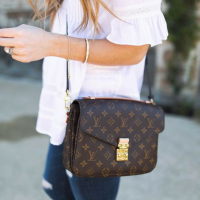 7d6ab838412b Many counterfeit manufacturers have perfected the monogram pattern on this bag  so don t assume it s authenticity based on the monogram alone.