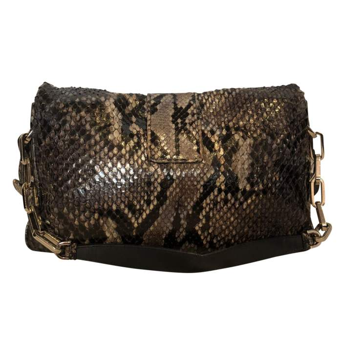 Black and gray python Bag-2