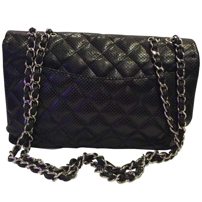 Timeless perforated quilted leather Bag-2