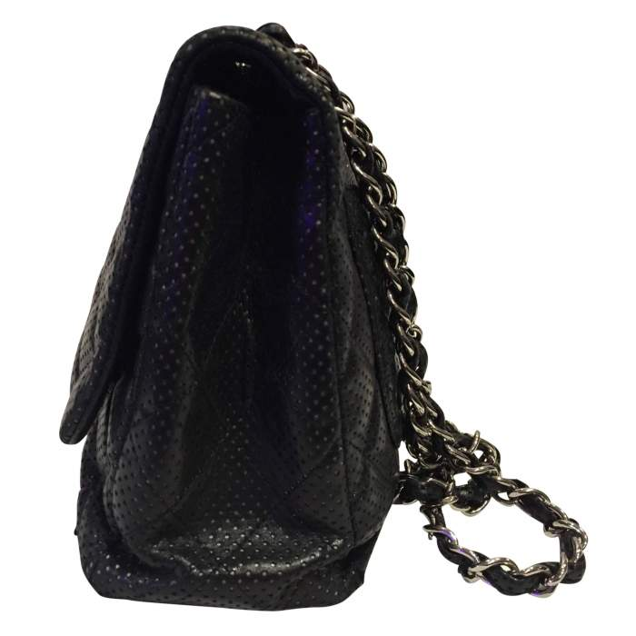 Timeless perforated quilted leather Bag-4