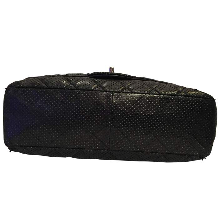 Timeless perforated quilted leather Bag-8