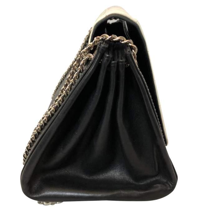 Black leather Bag-4