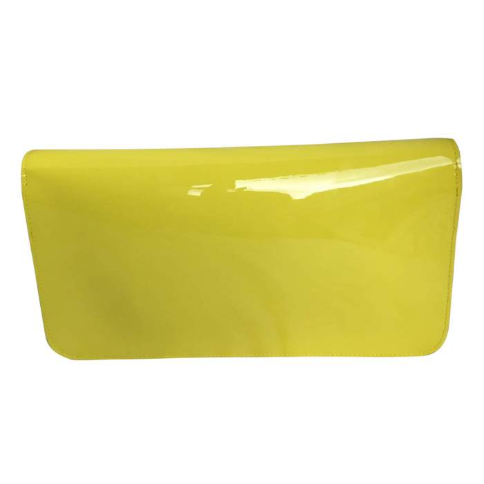 Patent leather Clutch-2