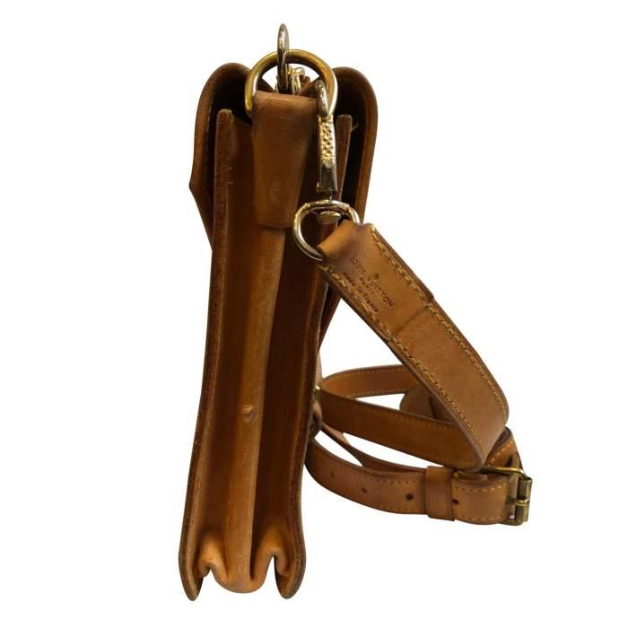 Vintage double shoulder Bag-4