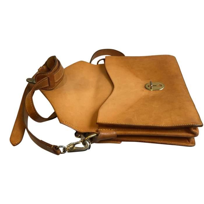 Vintage double shoulder Bag-8