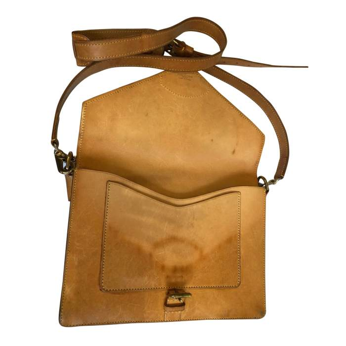Vintage double shoulder Bag-10