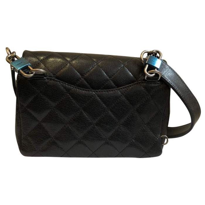 New small black leather Bag-6