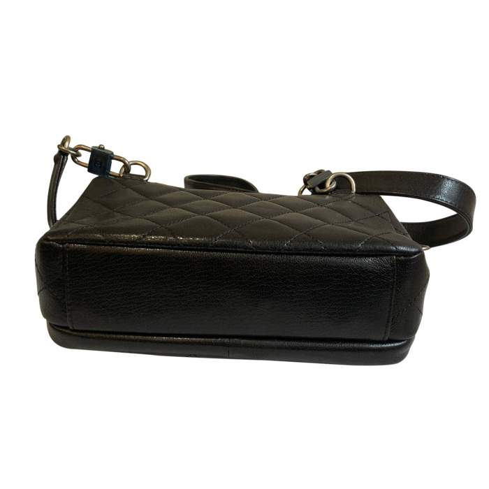 New small black leather Bag-8