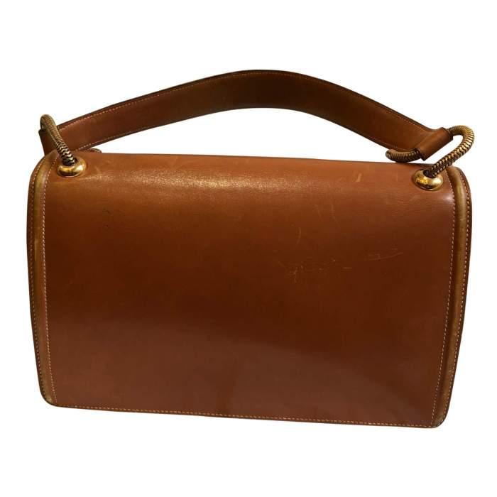 Vintage Princess leather Bag -2