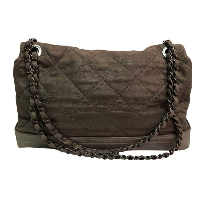 Shiny leather Bag-2