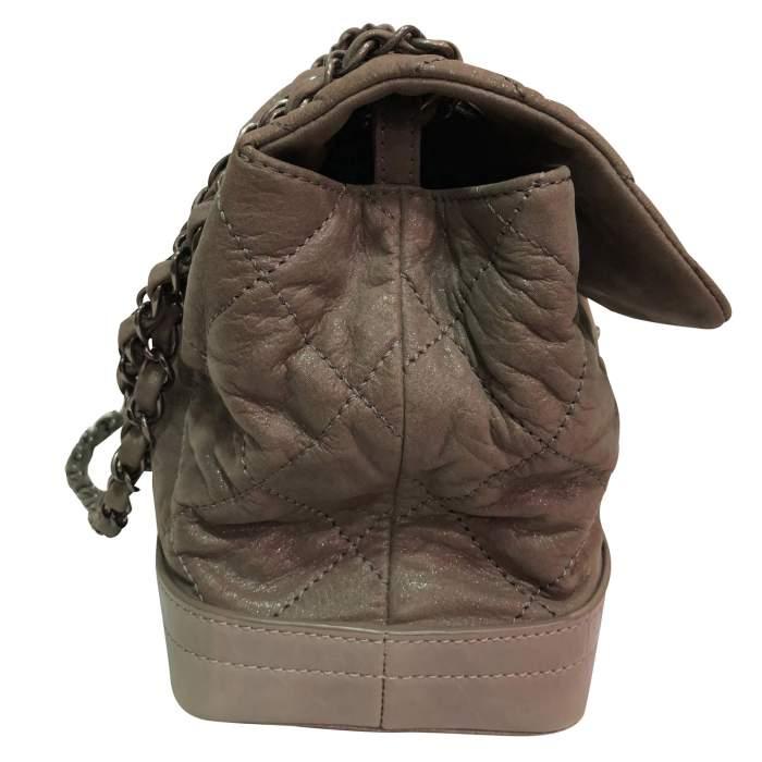 Shiny leather Bag-4