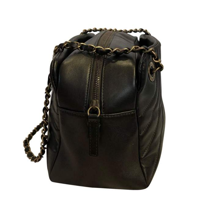 Bronze leather Bag -4
