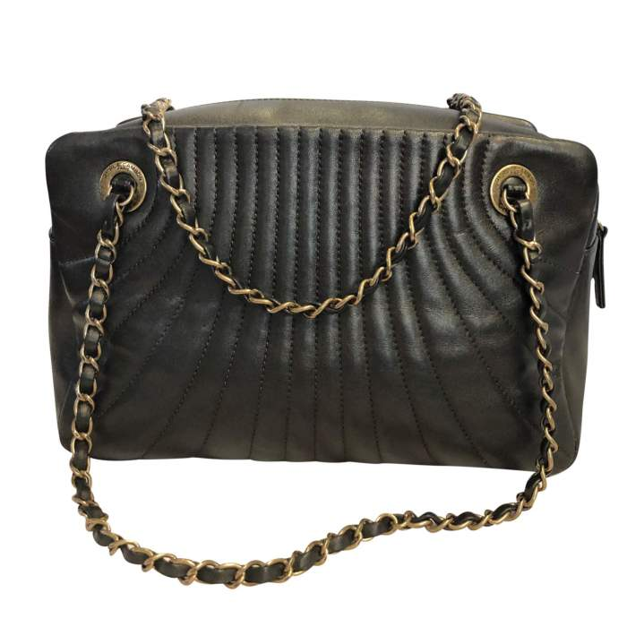 Bronze leather Bag -2