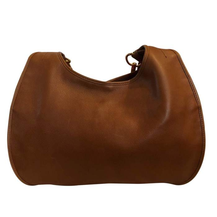 Large gold leather Bag -2