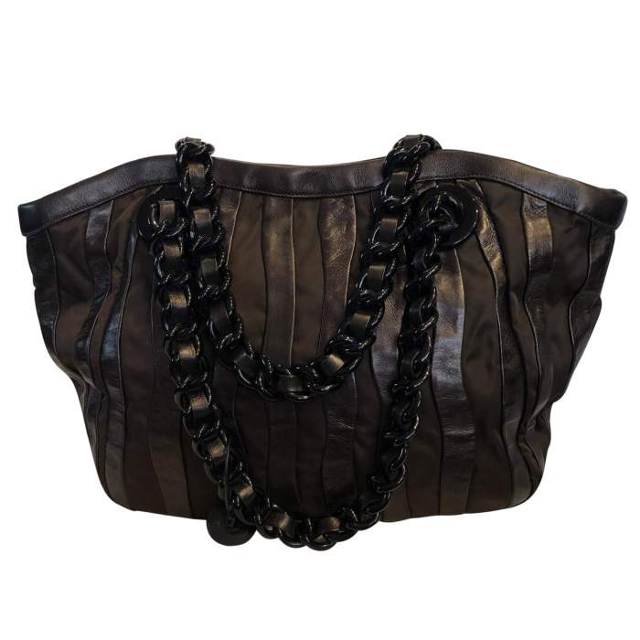 Canvas leather Bag-2