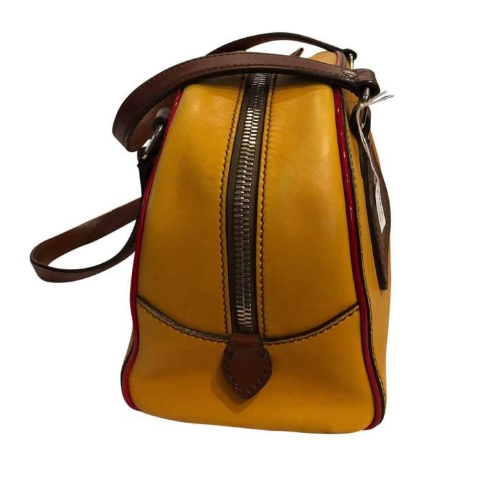 Mustard leather Bag-6
