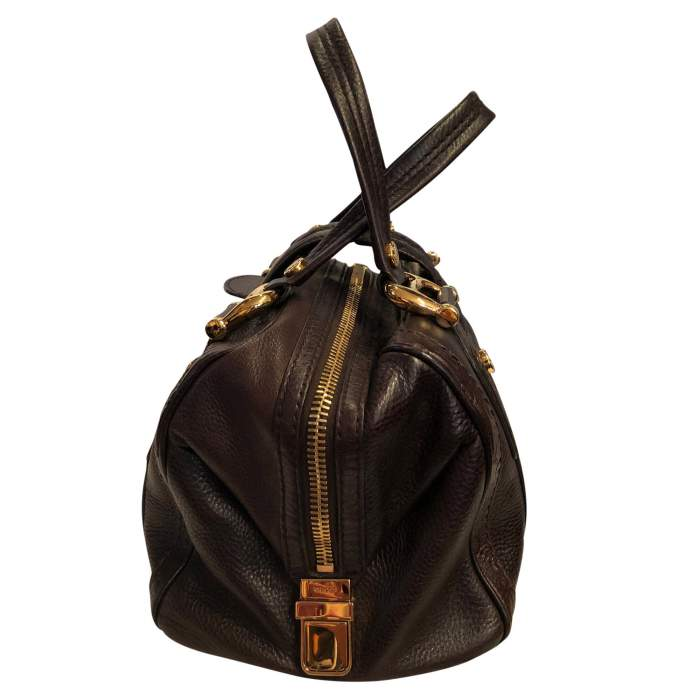 Grained leather Bag-4