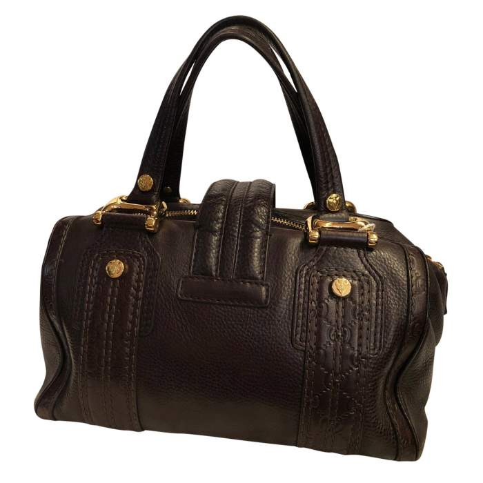 Grained leather Bag-2