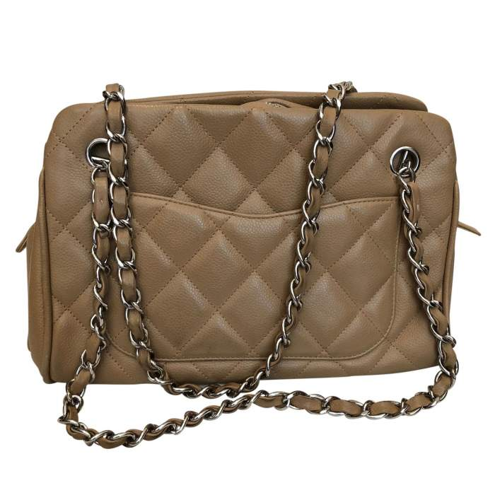 Quilted leather Bag -4