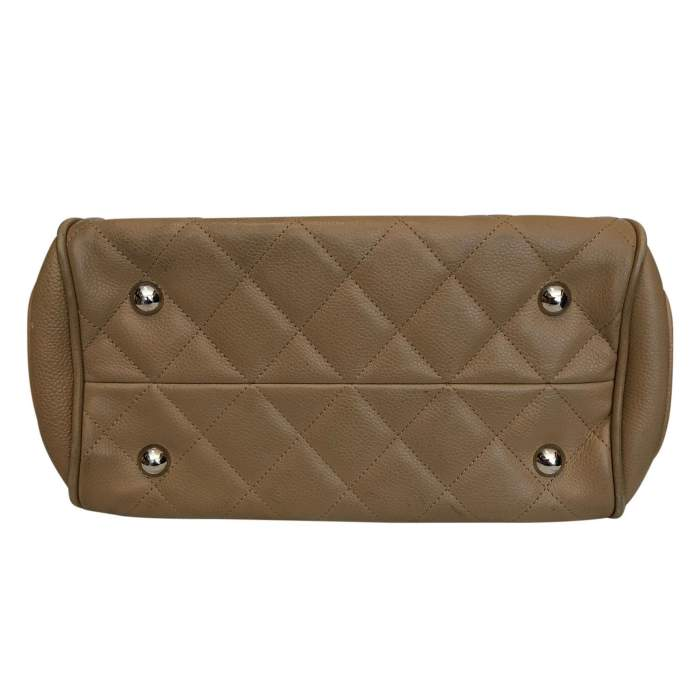 Quilted leather Bag -6