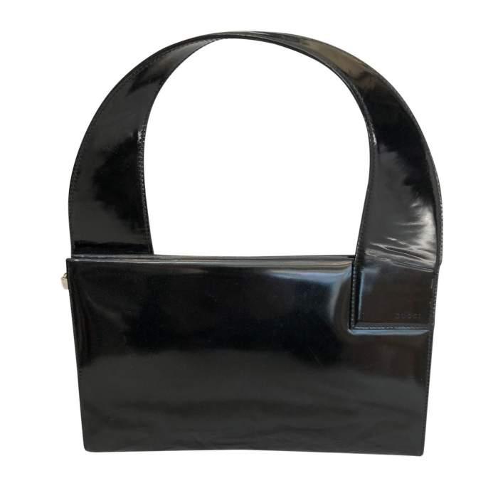 Vintage patent leather Bag -2