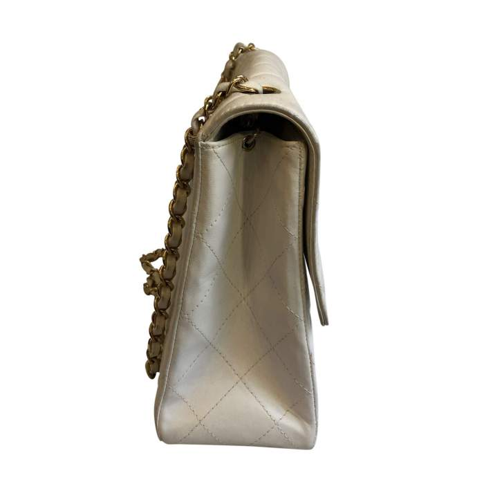 White leather Bag -4