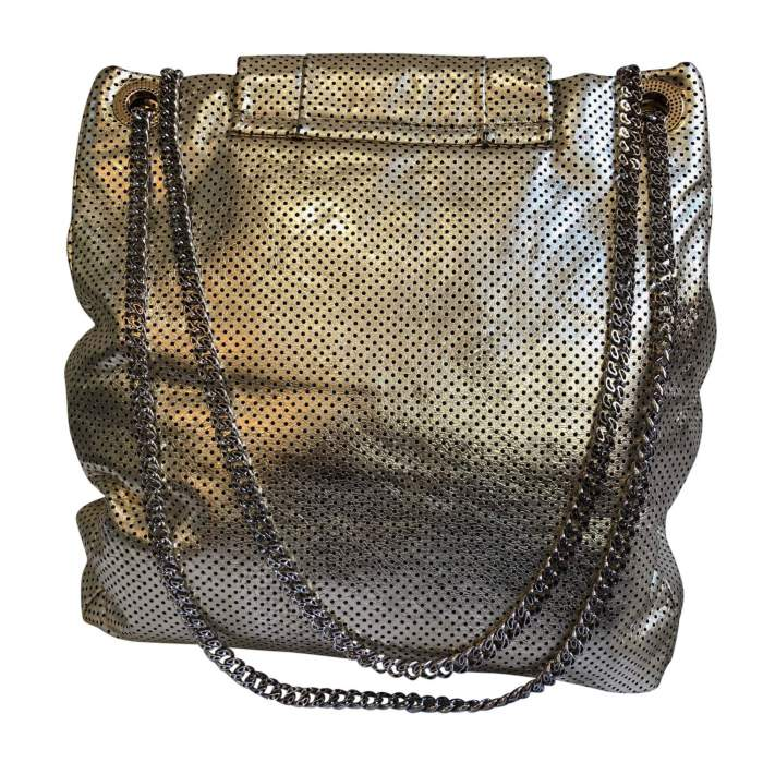 New gold leather Bag -4