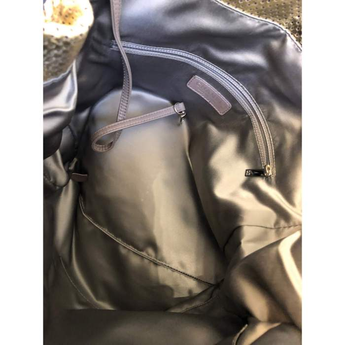 New gold leather Bag -8