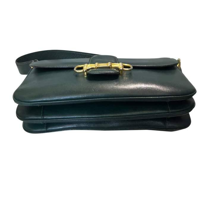 Vintage green Bag -8