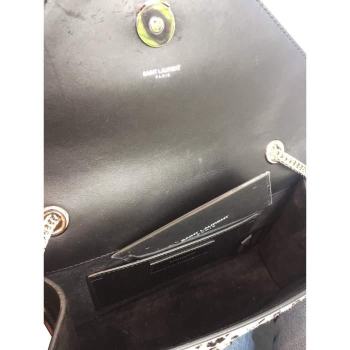 Black and white Handbag-10