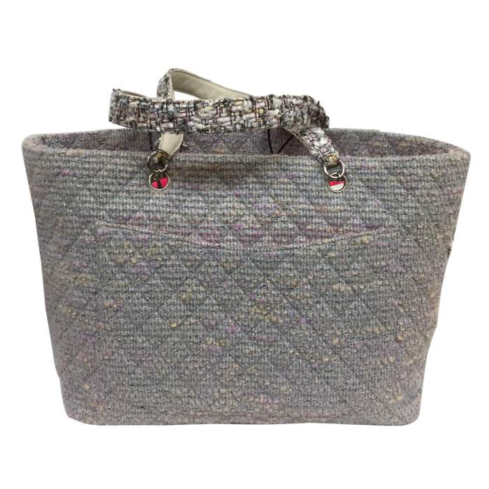 Collector tweed and lurex tote Bag-2