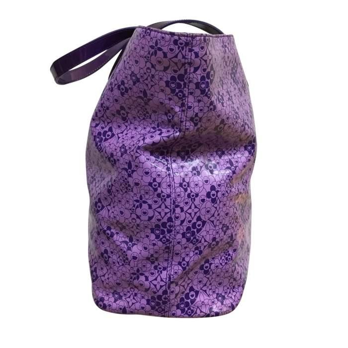 Large purple tote Bag-4