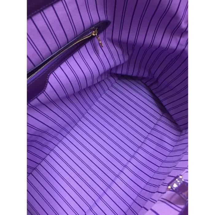 Large purple tote Bag-8