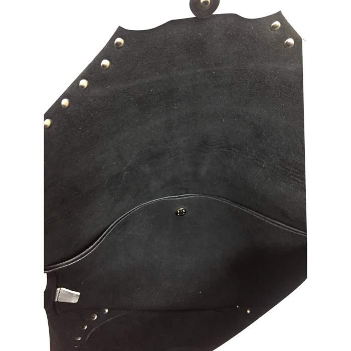 White leather shoulder Bag-8