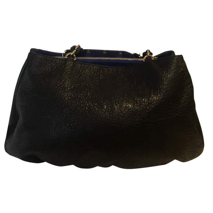 Large MIA marine leather Tote-2