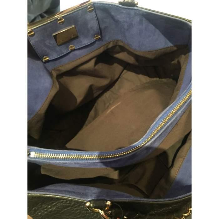 Large MIA marine leather Tote-8