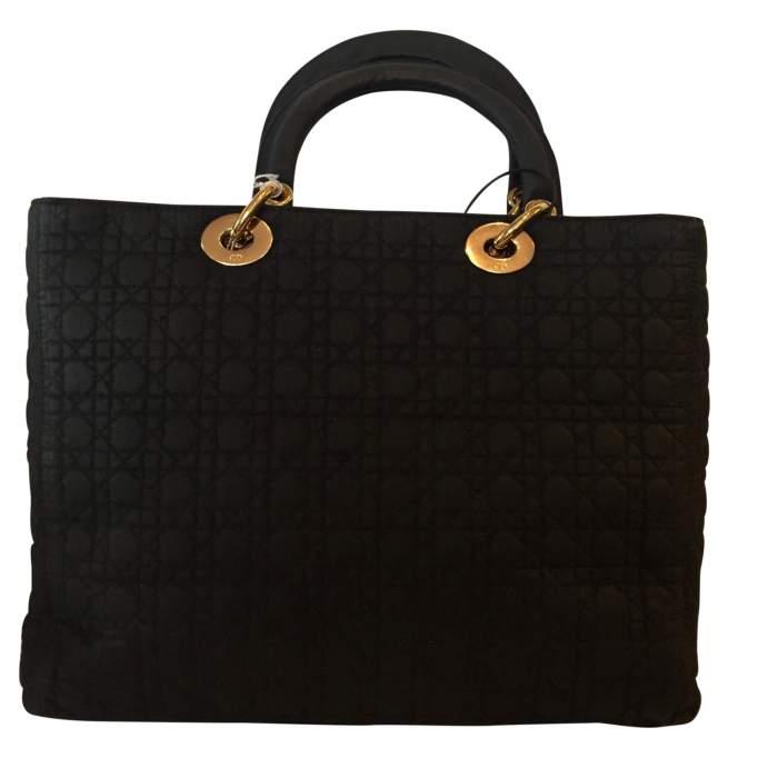 Black Lady Dior canvas Bag-2