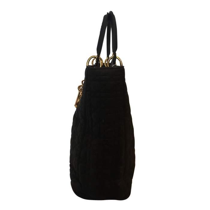 Black Lady Dior canvas Bag-4