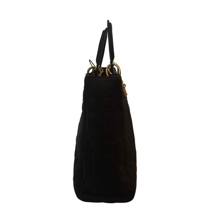Black Lady Dior canvas Bag-6