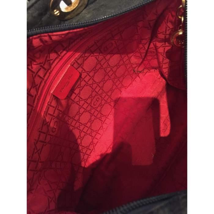 Black Lady Dior canvas Bag-10
