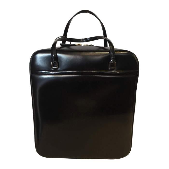Black patent Bag-2