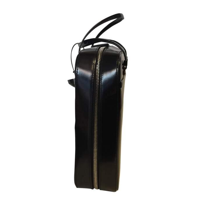Black patent Bag-4