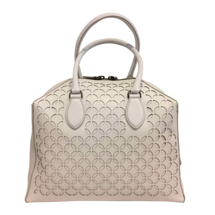 White leather Bag-2