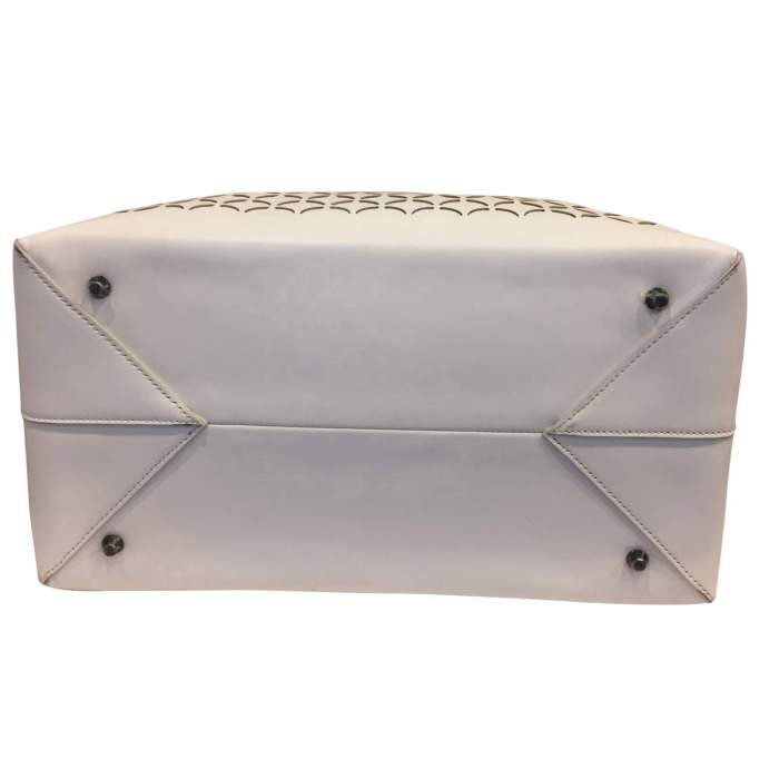 White leather Bag-6