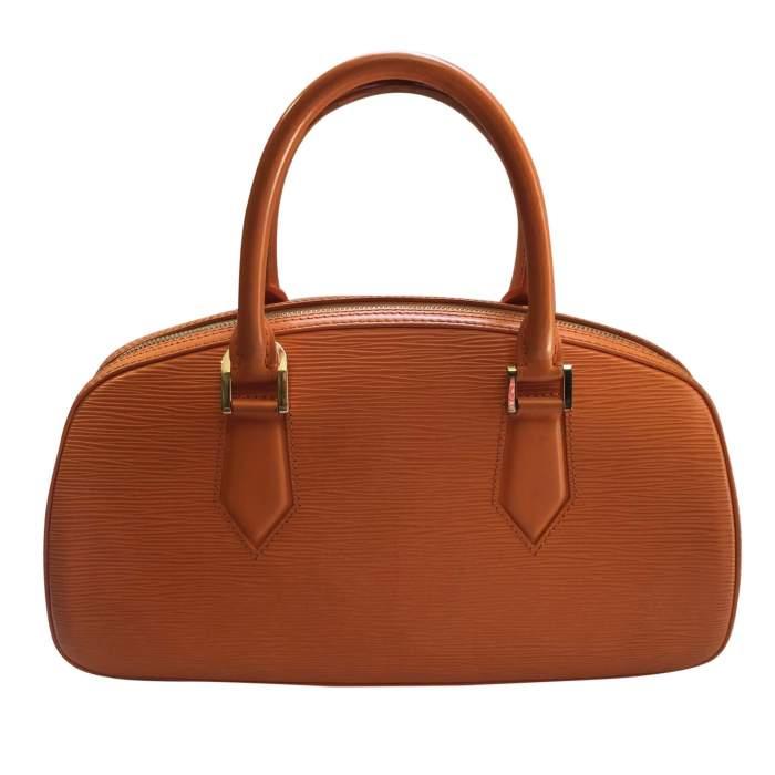 Small orange epi leather Handbag-2