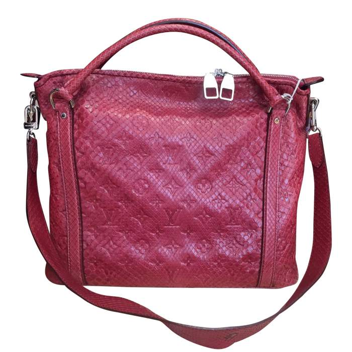 Raspberry python Handbag-2