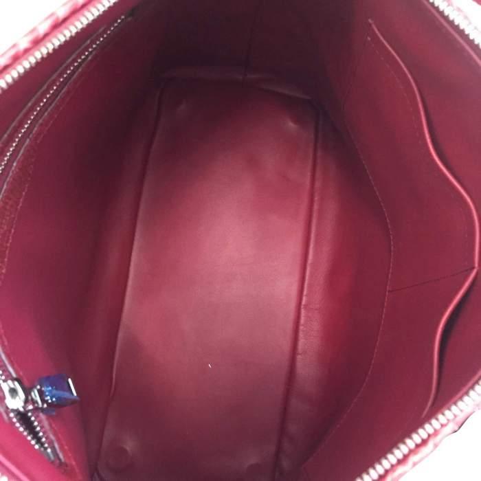 Raspberry python Handbag-6