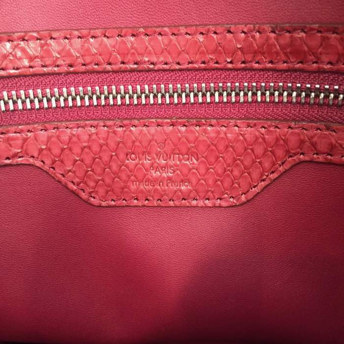 Raspberry python Handbag-8