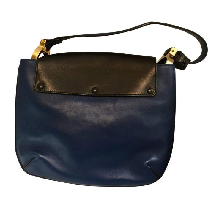 Tri-color leather Handbag-2